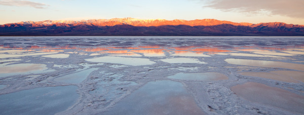 Badwater Sunrise, Death Valley National Park.